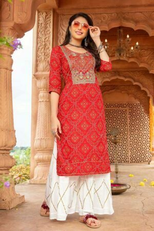 Red Traditional Dress